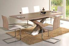 Esstisch Tisch Esszimmertisch ausziehbar RAUL sonoma Säulentisch 90x220 cm