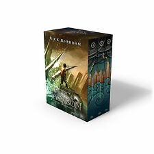 Rick Riordan Percy Jackson And The Olympians Paperback 3 Book Boxed Set New And