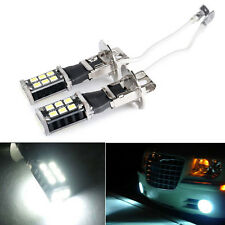 2X High Power H3 6000K Xenon White 15W LED 800LM Fog Driving DRL Light Bulb Sale
