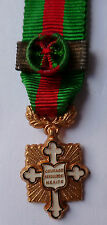 Médaille MINIATURE Grand Officier COURAGE DEVOUEMENT MERITE FRANCE ORIGINAL