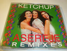 RAR MAXI CD. LAS KETCHUP. ASEREJE. REMIXES. 6 TRACKS