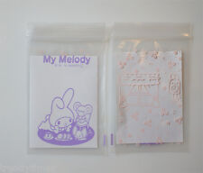10pcs 7x10cm My Melody Pattern Ziplock Polybag Reclosable Resealable Bags