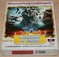 SSI Champions of Krynn Diskette (C64, Boxed) geprüft