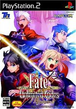 Used PS2 Fate/Unlimited Codes Japan Import (Free Shipping)、