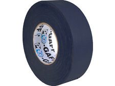 (1) ROLL- Protapes Pro Gaff Premium Matte BLACK Cloth Gaffer Tape 2inch 55 YRD