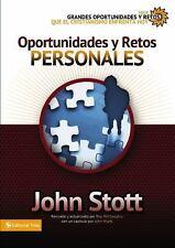 Oportunidades y retos personales (Grandes oportunidades y retos para el cristian