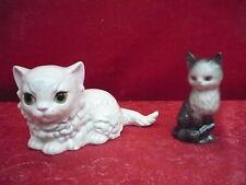 2 schöne Porzellanfiguren__2 Katzen__Goebel__!