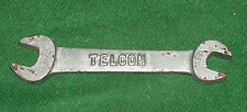 """Telcon (Bronze) 1/4"""" x 5/16"""" Whitworth Open Ended Spanner, Ex W.D"""