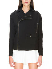 Cameo Collective Black Wild Side Zip Boxy Short Jacket Coat XS S M L