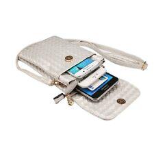 Handy Schulter Tasche für iPhone 6 / 6 Plus Portemonnaie Case Cover Schutz Hülle