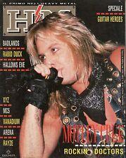 rivista - H/M HEAVY METAL - Anno IV Numero 85