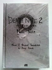 Death Note 2 The Last Name CD Music Note COLONNA SONORA LIBRO+CD BLISTERATO *MA