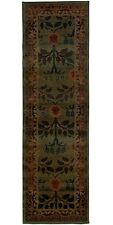 "2x9 (2'6"" x 9'1"") Runner William Morris Style Arts & Crafts Mission Area Rug"