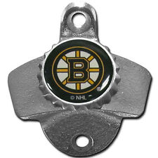 Boston Bruins NHL Wall Mount Metal Pub Bar Bottle Opener