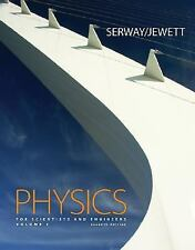 Physics for Scientists and Engineers, Volume 1, Chapters 1-22, 7th Edition, Jewe