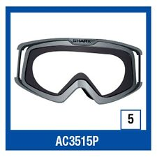 Shark RAW / VANCORE Motorcycle Helmet Replacement Goggle Frame Only White