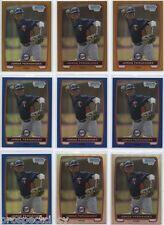 Lot of (36) Jorge Fernandez 2012 Bowman Draft COLOR Chrome Prospect RC's - Twins
