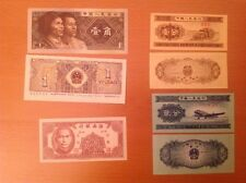 BANCONOTE CINA IN LOTTO DA 4 BANCONOTE FS - CHINA BANKNOTES UNC