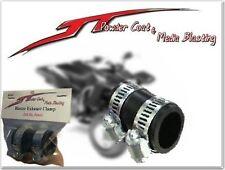 "(BLACK) YAMAHA BLASTER HIGH TEMP EXHAUST CLAMP YFS 200 1""ID Dirt Bike black ATV"