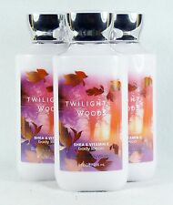 3 Bath Body Works TWILIGHT WOODS Body Lotion / Hand Cream