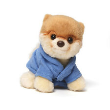 "Itty Bitty Boo Dog in Blue Bathrobe 5"" 4038533"
