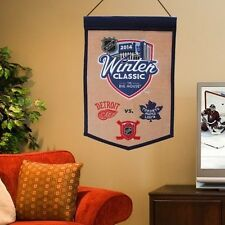 2014 NHL Winter Classic Traditions Banner - Natural/Navy Blue