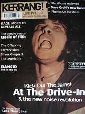 KERRANG 829 - AT THE DRIVE IN - CRADLE OF FILTH - TERRORVISION