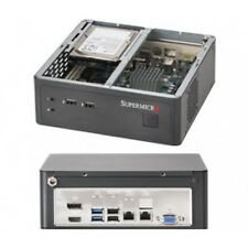 "SuperMicro CSE-101i Mini-ITX SuperChassis NO PSU 1x 2.5"" Support 2x USB 2x audio"