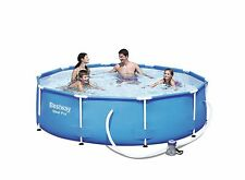 Bestway Steel Pro Frame Swimming Pool Set with Filter Pump 305 x 76 cm Blue