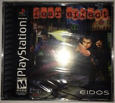 Fear Effect for the PS1 PlayStation !!FACTORY SEALED!!