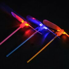5Pcs LED Flying Dragonfly Helicopter Boomerang Frisbee Flash Development Toy Hot