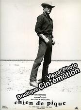 Photo Cartonnée Cinéma 23.5x29.5cm (1960) CHIEN DE PIQUE Eddie Constantine