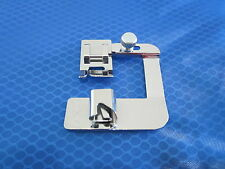 """DOMESTIC SEWING MACHINE SNAP ON BIAS BINDER FOOT 1/2"""" FOR BROTHER JANOME SINGER"""