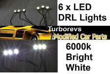 LED DAYTIME RUNNING SPOT LIGHT DRL PEUGEOT 107 207 308 306 206 406 407