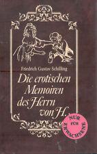 Schilling, Die erotischen Memoiren des Herrn von H., nur für Erwachsene, Velours