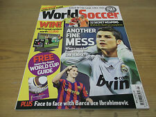 Football Magazine World Soccer May 2010 World Cup Guide Team-by-Team Referees
