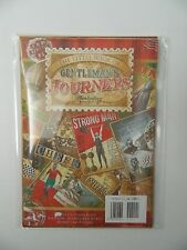 """HUNKYDORY THE LITTLE BOOK """"GENTLEMANS JOURNEYS """"SET OF 24 - A5  CARD TOPPERS"""