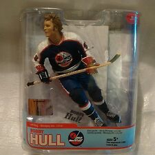 Mcfarlane Bobby Hull hockey WHA Winnipeg Jets NIB 1st $million a year contract