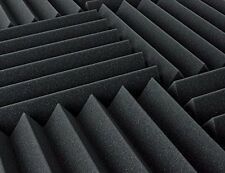 """Acoustic Foam (12 Pack Kit) - Wedge 4"""" 12"""" x 12"""" covers 12sq Ft - SoundProofing/"""