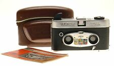 VIEW-MASTER STEREO COLOR CAMERA RODENSTOCK LENS TRINAR 1:2.8/20mm CASE MANUAL