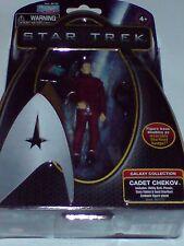 STAR Trek-Collezione Warp - 4 pollici CADET CHEKOV Figura Figura NUOVO RARO