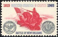Usa 1965 bataille de la nouvelle-orléans/soldats/canon/militaire/guerre/cheval/flag 1v n44981