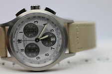 Men's Hamilton Khaki Aviation Chronograph Watch H76412553 New Batt w/ Box