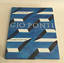 Gio Ponti The Complete Work 1923-1978 Lisa Licitra Ponti MIT Press 1990 Buch