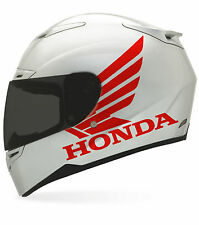 2 x Honda Matte sticker for helmet decal motorcycle parts dot shoel arai bell