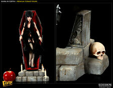 ELVIRA MISTRESS OF THE DARK IN COFFIN SIDESHOW PREMIUM FORMAT 1/4  # 249 OF 750