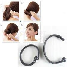 Hair Style French Twist Foam Hair Shaper Tool Bun Maker Women Sponge Clip