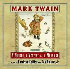 A Murder, a Mystery, and a Marriage by Mark Twain and Garrison Keillor (2001,...