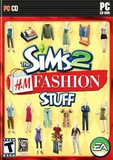 The Sims 2 H&M Fashion Stuff expansion PC Games Windows 10 8 7 Vista XP Computer