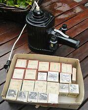 Pouva Magica DDR Bildbetrachter OVP Film Projektor Bakelit +21 Filme DDR vintage